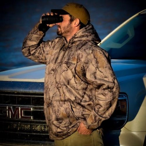 32051 500x500 - Natural Gear Camo Mid Weight Hoodie Deception Decoy Co. Logo