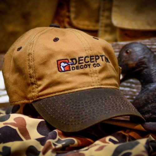 32101 500x500 - Wax Canvas Hat Deception Decoy Co. Logo