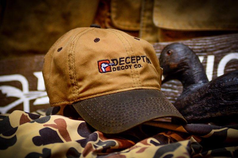 32101 - Wax Canvas Hat Deception Decoy Co. Logo